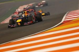 formula one: 17. F1 Grand Prix Of India