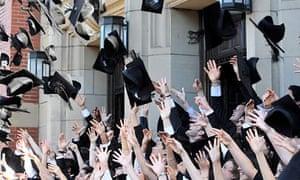 University students celebrate graduation