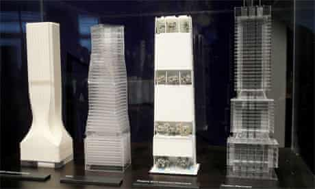 Proposals by Zaha Hadid, OMA, RSH+P and Foster + Partners.