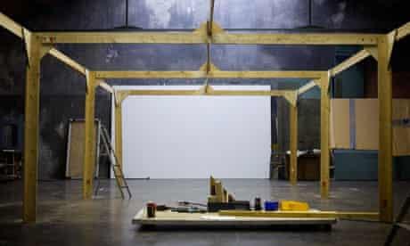 Theatre du Soleil under construction
