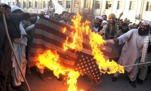 Pakistanis protest