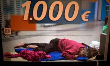 Gregorio, a Romanian immigrant in Barcelona, 4/11/12
