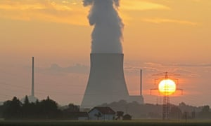 Cooling towers of German nuclear power plant