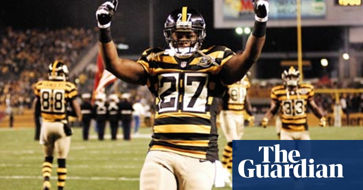 low priced 79d06 7e6c4 Give the Pittsburgh Steelers a break. Those retro uniforms ...