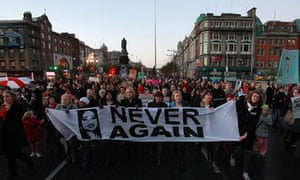 Dublin abortion protest