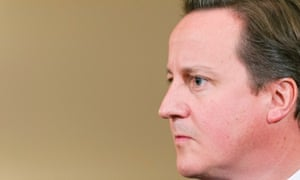 Prime minister David Cameron, during a press conference yesterday.