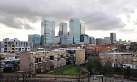 The wealth divide in Tower Hamlets is a violation of Britons' sense of  fairness   Giles Fraser   The Guardian
