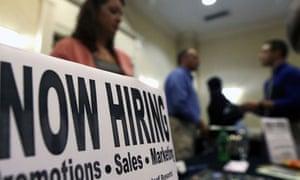US unemployment jobs fair
