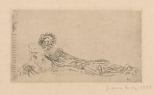 Death: James Ensor 'My Portrait in 1960'