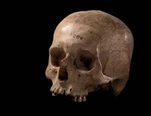 Death: Ancient Incan skull, 16th century