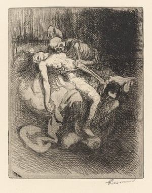Death: Albert Besnard's Lequel from the series 'Elle'