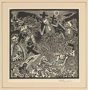 Death: Walter Sauer's 'Dance of Death'
