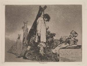 Death: Francisco Goya's 'Tampoco : Desastres de la Guerra