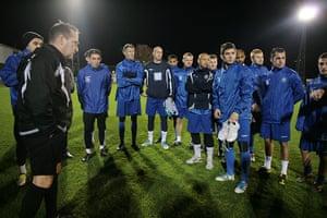 Met Police Football Team: Team-talk