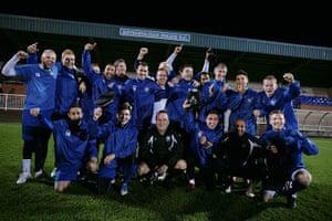 Met Police Football Team: Team portrait