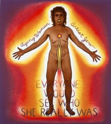 Judy Chicago Aging Woman/Artist/Jew
