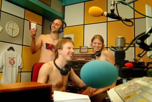 The Naked Scientists at work