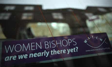 A car sticker advocating female bishops