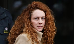 Rebekah Brooks leaving the Old Bailey on 26 September 2012. Photograph: Lefteris Pitarakis/AP