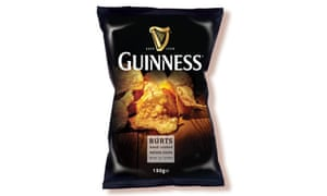 Guinness flavoured crisps
