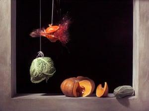 Art of Arrangement: Still image from Pomegranate, 2006 by Ori Gersht