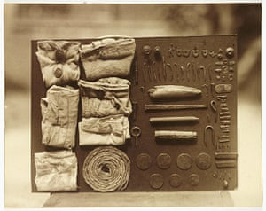 Art of Arrangement: Contents of an Ostrich's Stomach, c 1930 by Frederick William Bond