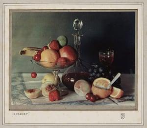 Art of Arrangement: Dessert, c.1923 by Frederick G.Tutton