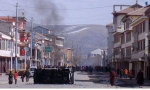 tibet monastery protests