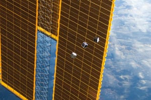 A month in Space: Tiny Satellites Deployed from Station
