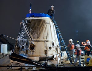 A month in Space: SpaceX's Dragon Capsule at Port