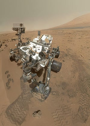 A month in Space: Curiosity rover