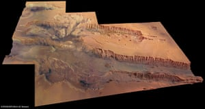 A month in Space: Valles Marineris – the largest canyon in the Solar System