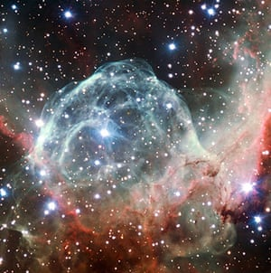 A month in Space1: Thor's Helmet Nebula