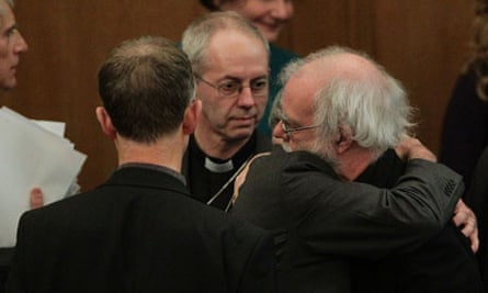 Welby and Williams after bishops vote