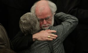 Dr Rowan Williams, the outgoing Archbishop of Canterbury, after draft legislation introducing the first women bishops in the Church of England failed to receive final approval from the Church of England General Synod.