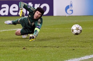 Tuesday champions league2: Chelsea goalkeeper Petr Cech
