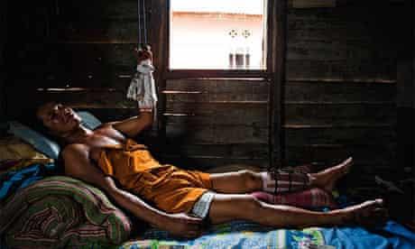 Suge, a sea tine miner in Bangka, Indonesia