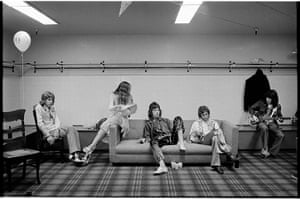 Rolling Stones: The Rolling Stones in dressing room