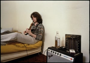 Rolling Stones: Mick Taylor with guitar