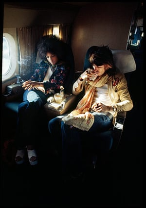 Rolling Stones: Keith Richards on plane