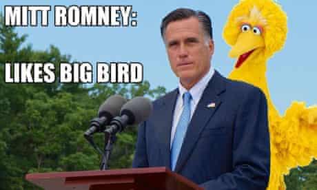 Mitt Romney Big Bird
