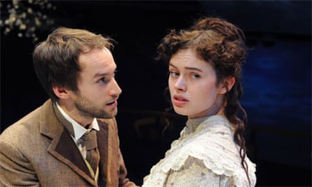 Mark Arends and Sarah Winter in Love's Comedy