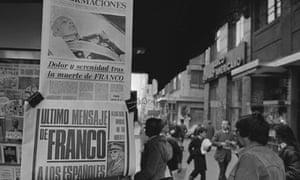 Death of General Franco