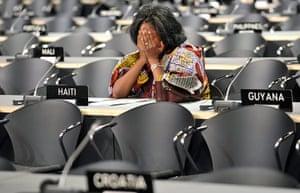 Kyoto history: COP15 A Haitian delegation
