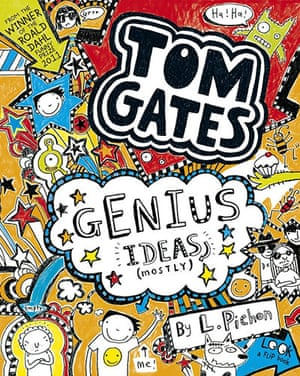 Kids Christmas books: Tom Gates: Genius Ideas (Mostly) by Liz Pichon