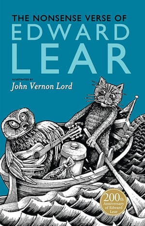 Kids Christmas books: The Nonsense Verse of Edward Lear, illustrated by John Vernon Lord