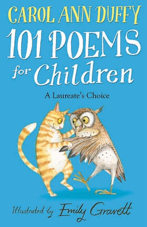 Kids Christmas books: 101 Poems for Children, edited by Carol Ann Duffy