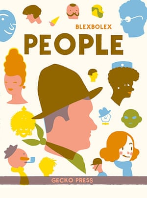 Kids Christmas books: People by Blexbolex (Gecko Press, £12.99)