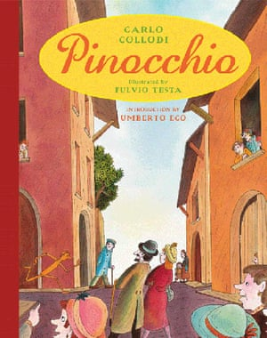 Kids Christmas books: Carlo Collodi's Pinocchio, illustrated by Fulvio Testa (Andersen, £16.99)