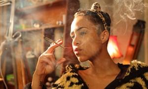 Zawe Ashton as Vod in Fresh Meat.